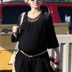 Elsa Pataky Bumps Around Los Angeles