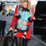 Fergie Jets Off With Baby Son Axl
