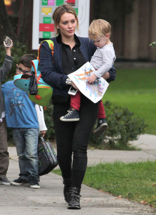 Jaime King & Kyleman Newman Enjoy a Day Out With James