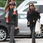 Jason Bateman & Family Enjoy Sunday at the Farmers Market