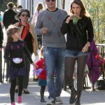 Jessica Alba & Family Spend Saturday Out in Beverly Hills