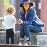 Jessica Alba Spends Sunday at the Park With Family
