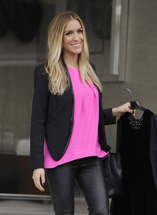 Pregnant Kristin Cavallari Is All Smiles In West Hollywood