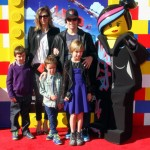 Mark Wahlberg & Family Attend The Lego Movie Premiere