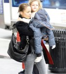 Nicole Richie Shops In Hollywood With Harlow