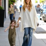Rachel Zoe & Skyler's Happy Day Out in Beverly Hills
