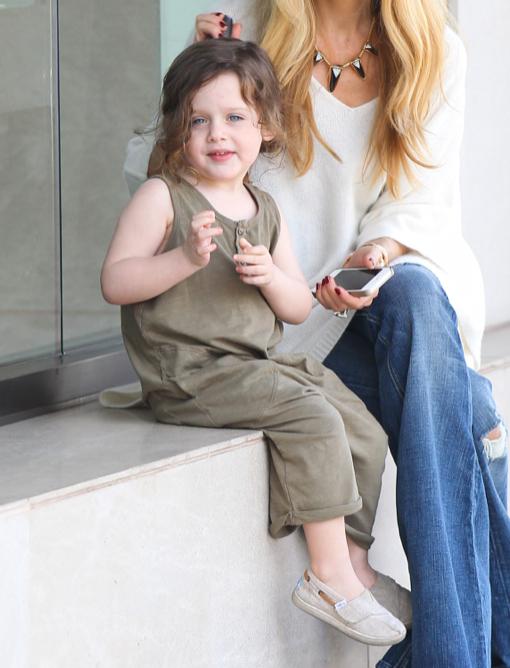 Rachel Zoe & Skyler's Happy Day Out in Beverly Hills