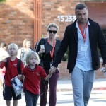 Liev Schreiber & Naomi Watts Pick Their Adorable Boys Up From School