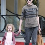 Nicole Kidman Picks Up Her Little Ballerina
