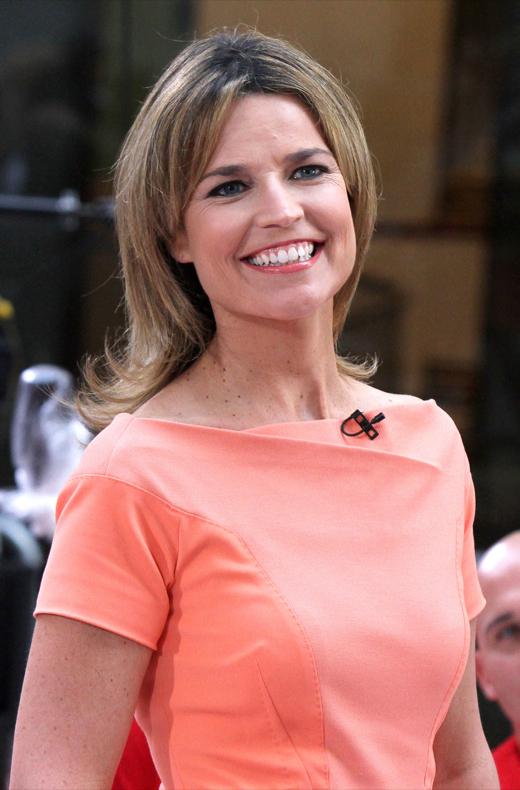 "Savannah Guthrie Hosts ""Today"" Show"
