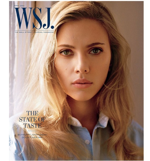 Scarlett Johansson Covers WSJ