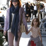 Alyson Hannigan: Happy Lunch Day With Satyana