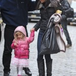 Bethenny Frankel: Rainy Big Apple Day With Bryn