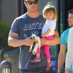 Chris Hemsworth Spends The Day With His Mom and Daughter India