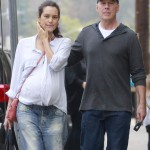 Emma Heming Bumps On Day Out With Bruce Willis