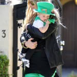 Fergie Takes Her Lucky Charm to a St Patrick's Day Party