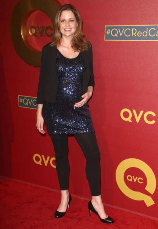 "Jenna Fischer: ""I'm Almost in My Third Trimester"""