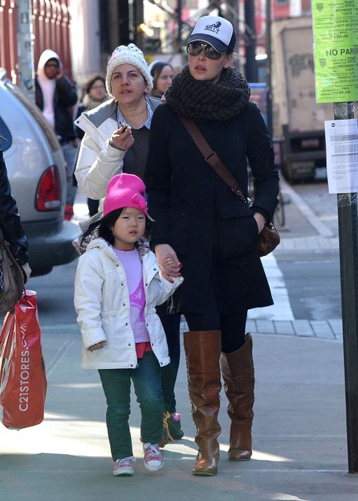 Katherine Heigl: Big Apple Day With Her Girls   Celeb Baby ...