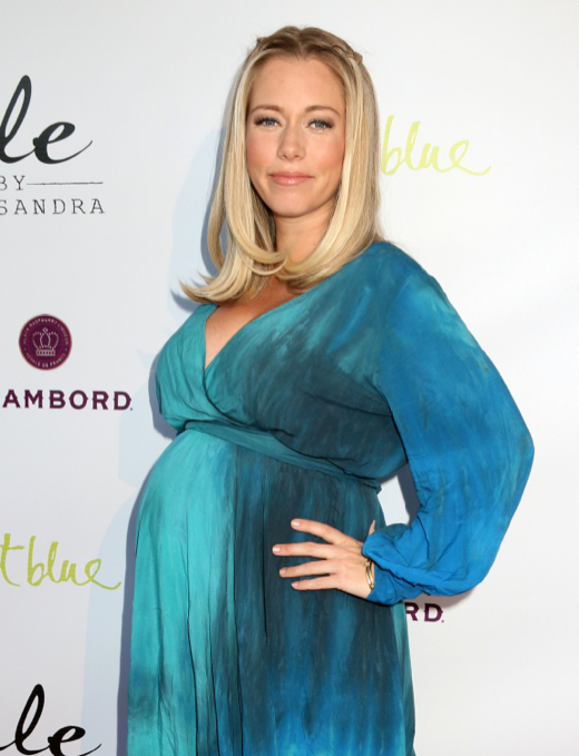 Kendra Wilkinson Glows While Showing Off Baby Bump