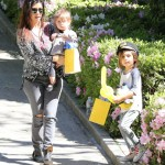 Kourtney Kardashian: Saturday Party With Mason & Penelope