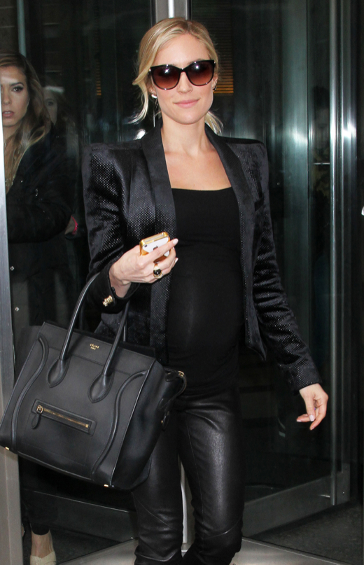 Pregnant Kristin Cavallari Steps Out In NYC