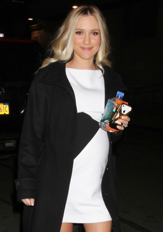 Pregnant Kristin Cavallari Out And About In NYC