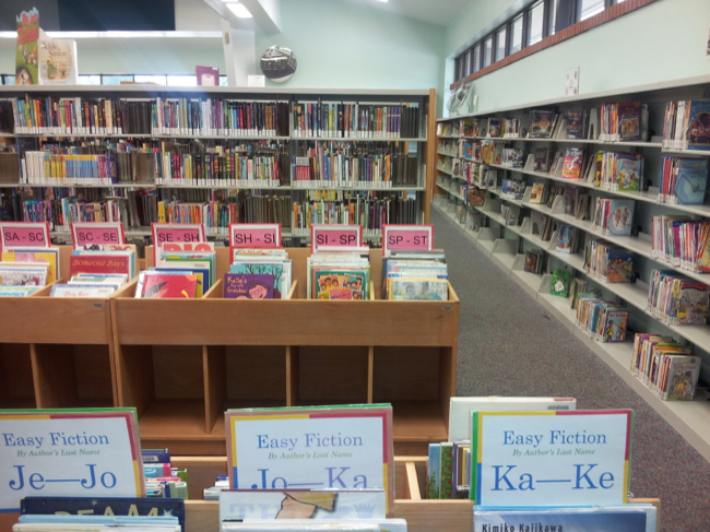 Teach Your Child About The Library