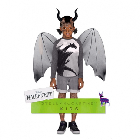 Stella McCartney & Angelina Jolie Create Maleficent Clothing Line for Kids