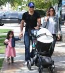 Mario Lopez & Family Visit Bel Bambini