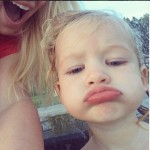 Jessica Simpson Shares Selfie of Maxwell