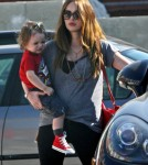 Megan Fox Runs Errands With Noah