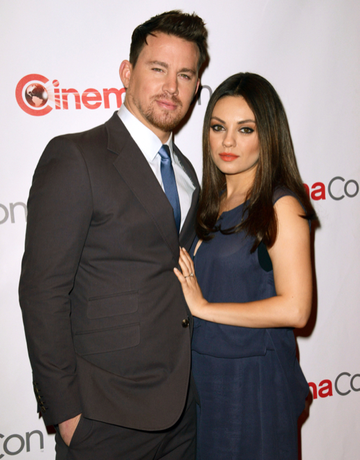 Pregnant Mila Kunis Glows on Red Carpet Alongside Co-Star Channing Tatum