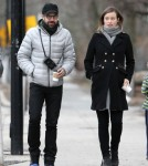 Exclusive... Olivia Wilde & Jason Sudeikis Out For A Stroll In Boston