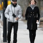 Olivia Wilde Bumps on a Cold 'Spring' Day