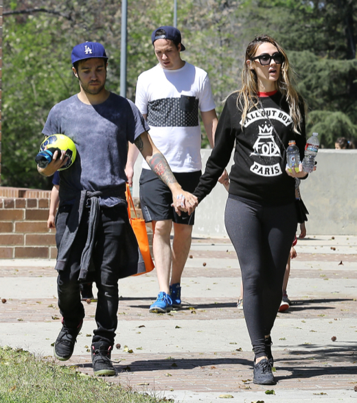 Pete Wentz: Family Day at the Park