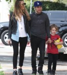 Pete Wentz Shops At Bel Bambini With Meagan & Bronx