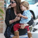 Selma Blair Takes Arthur For a Check-Up