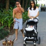 Simon Cowell & Lauren Silverman Continue Miami Vacation With Eric