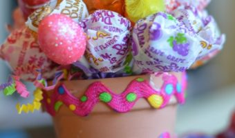Easter Craft: Easter Lollipop Pot