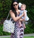 Jenna Dewan Takes Everly To The Doctor's Office