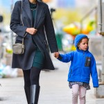 Leelee Sobieski's Big Apple Day With Her Mini-Me