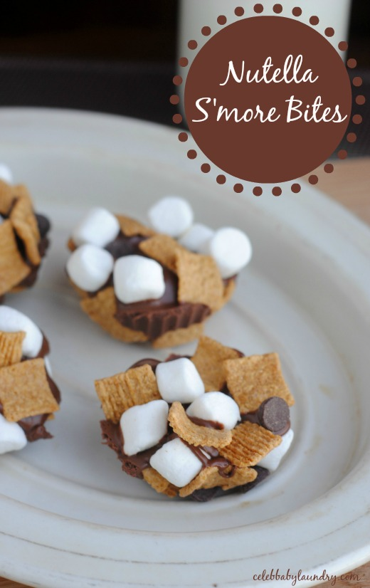 Nutella S'more Bites
