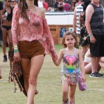 Alessandra Ambrosio Enjoys Coachella With Anja