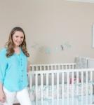 Beverley Mitchell Shows Off Kenize's Nursery