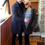 Christina Aguilera Debuts Baby Bump