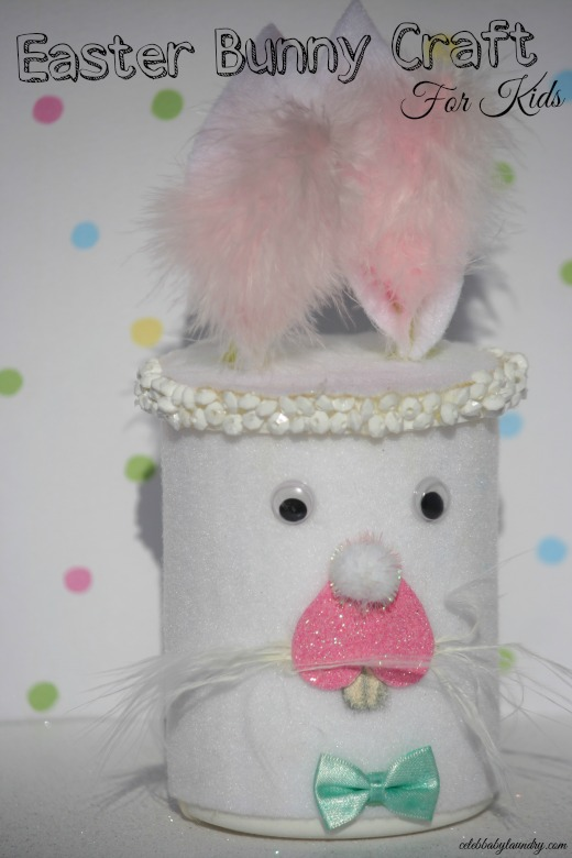 Easter Bunny Craft For Kids #EasterBunny #Craft