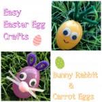 Easter Egg Critters: Bunny & Carrot Easter Eggs