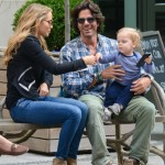 Elizabeth Berkley: Spring Day in the Big Apple With Family