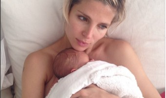 Elsa Pataky Shares Intimate Shot With Twin Son