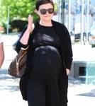 Pregnant Ginnifer Goodwin Shops At Bel Bambini